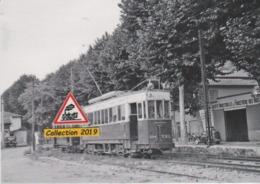 202T - Motrice N°204 Du Tramway De Nice (06), Au Terminus De La Ligne 37  - - Contes