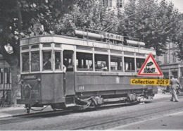 203T - Motrice N°164 Du Tramway De Nice (06), Place Garibaldi  - - Transport Urbain - Auto, Autobus Et Tramway