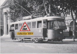 204T - Motrice N°3 (ex-ligne Du Littoral) Du Tramway De Nice (06), Au Terminus Du Port  - - Tramways