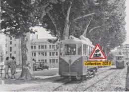 206T - Motrices Type E Du Tramway De Nice (06), Sur L'évitement De Pont-Magnan  - - Traffico Stradale – Automobili, Autobus, Tram