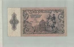 Billet De Banque   AUTRICHE- 10 Zehn SCHILLING DE 1950  Sept 2019  Alb Bil - Autriche