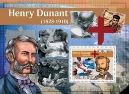 Guinea-Bissau, 2010. [gb10512] Henry Dunant ( Red Cross ) (s\s+block) - Henry Dunant