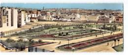 Tunisie - Tunis - Parc Habib Thameur Edit Gaston Levy 5060 Carte Panoramique 9X22 CPSM - Tunisie