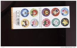 Belgie 2014 B150 4474/83 Emoticons - Carnets 1953-....