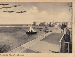 SANTO SPIRITO-BARI-IL PORTO-CARTOLINA VERA FOTOGRAFIA VIAGGIATA IL 11-6-1952 - Bari