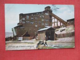 Rotograph---Green Ridge Coal Co Breaker Scranton Pa.-------------ref 3638 - Bergbau