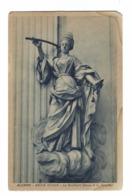 895 - ALCAMO TRAPANI BADIA NUOVA LA GIUSTIZIA STUCCO DI G SERPOTTA 1920 CIRCA - Trapani