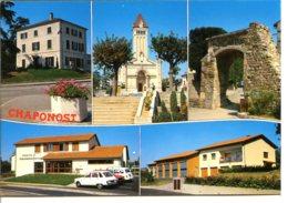 69630 CHAPONOST - 5 Vues De La Ville - Francia