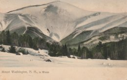Mount Washington In Winter, White Mountains, New Hampshire - White Mountains