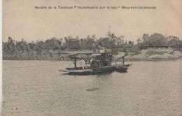 CPA NOUVELLE CALEDONIE  RIVIERE DE LA TONTOUTA  L'AUTOMOBILE SUR LE BAC - Nouvelle-Calédonie