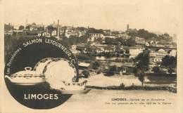 """/ CPA FRANCE 87 """"Limoges, Vue Générale De La Ville"""" - Limoges"""