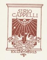 Ex Libris Sirio Cappelli - Giulio Cisari - Ex Libris