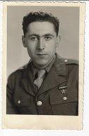 Carte-Photo - Portrait D'un Militaire à Identifier (V85) - Fotografía