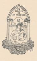 Ex Libris Lia Breschi - Giulio Cisari - Ex Libris