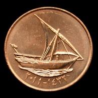 United Arab Emirates 10 Fils (Reduced Size) 1996-05, Km3.2. Coin UNC. 19mm - Emirats Arabes Unis