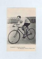 CP  CHARPIOT, Champion Lyonnais, Sur Bicyclette PEUGEOT, Pneus LION. Cycliste, Vélo. - Cyclisme