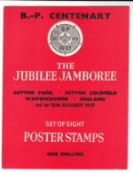 G.B. / 1957 Jubilee Jamboree Cinderellas - Non Classés