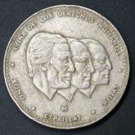 Dominican ½ Peso Km62.1 1983-1984 Coin Currency - Dominikanische Rep.