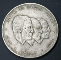 Dominican Half 1/2 ½ Peso Km62.2 1986-1987 Coin Currency - Dominikanische Rep.