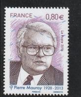 PIERRE MAUROY 2016 OBLITERE YT 5073 - Frankreich