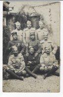 Carte-Photo - Groupe De Militaire à Identifier  (V102) - Fotografía