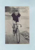 CP Walter RÜTT, Champion Allemand, Vainqueur Des Six Jours D'Amérique, Sur Bicyclette PEUGEOT, Pneus LION. Cycliste. - Cyclisme