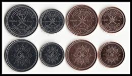 OMAN 4 COINS SET. 2015 Commemorative Coin UNC - Omán