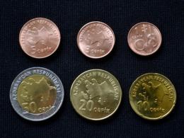Azerbaijan Coin Set. 1 Set Of 6 Coins - Azerbaiyán