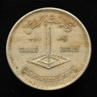 Pakistan 1 Rupee 1977. Km45. Islamic Summit Conference Coin - Pakistan