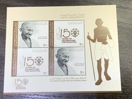 UAE 2019 Gandhi Stamp Sheet MNH Ultra Rare And Sold Out - Ver. Arab. Emirate
