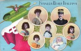 Famiglia Reale Italiana - 1917 - Case Reali