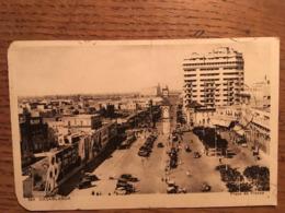 CPA, Casablanca Place De France, Animée, écrite - Casablanca