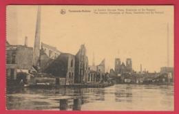 Dendermonde / Termonde - Oorlog 1914-18 - The Dendre ( Factories Of Roos, Geerinckx And De Naeyer ( Verso Zien ) - Dendermonde
