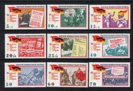 DDR Yt. 804/812 MNH** 1965 - DDR