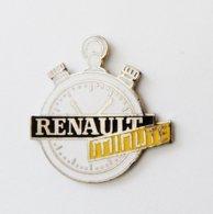 Pin ' RENAULT Minute Chronomètre - Rno - Renault