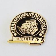 Pin ' RENAULT F1 Arthus Bertrand Championnat Du Monde - Rno - Renault