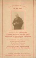 IMAGE PIEUSE CANIVET 28 MAI 1891  J.L. LEGRAND ORDONNE PRETRE EN 1831 - Santini