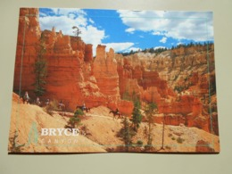 ETATS UNIS UT UTAH BRYCE CANYON A HORSEBACK RIDE......... - Bryce Canyon