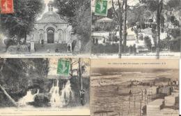 Lot N° 95 - 100 Cartes Du Département De La Gironde (33) - Villes, Villages, Plages, Quelques Animations - Cartes Postales