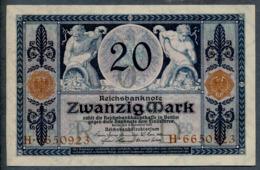 P63 Ro53 DEU-42. 20 Mark 4/11/1915 UNC - [ 2] 1871-1918 : Empire Allemand