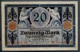 P63 Ro53 DEU-42. 20 Mark 4/11/1915 UNC - 20 Mark