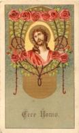 IMAGE PIEUSE CANIVET AVEC PUBLICITE AU VERSO  TRICALCINE VOIR LES DEUX SCANS - Images Religieuses