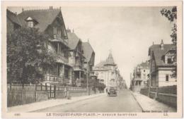 62. LE TOUQUET-PARIS-PLAGE. Avenue Saint-Jean. 190 - Le Touquet