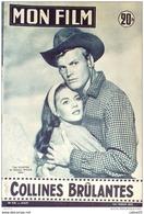 CINEMA-COLLINES BRULANTES-TAB HUNTER-NATALIE WOOD-PAUL MEURISSE-MF 576-1957 - Cinema