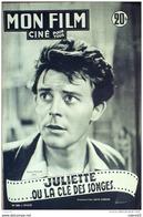 CINEMA-JULIETTE Ou La CLE Des SONGES-GERARD PHILIPPE-JEAN ROGER CAUSSIMON-MF 288-1952 - Cinema