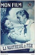 CINEMA-LA MAITRESSE De FER-ALAN LADD-VIRGINIA MAYO-DOUGLAS DICK-MF 359-1953 - Cinema
