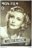 CINEMA-LA NUIT BLANCHE-JACQUES DACOMINE-PIERRE BRASSEUR-JIMMY GAILLARD-MF 130-1949 - Cinema