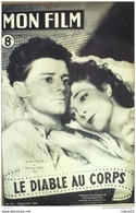 CINEMA-LE DIABLE Au CORPS-GERARD PHILIPPE-MICHELINE PRESLE-DENISE GREY-MF 67-1947 - Cinema