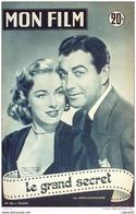 CINEMA-LE GRAND SECRET-ROBERT TAYLOR-ELEANOR PARKER-ROBERT BURTON-MF 383-1953 - Cinema
