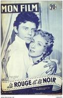 CINEMA-LE ROUGE Et Le NOIR-GERARD PHILIPPEDANIELLE DARRIEUX-PIERRE JOURDAN-MF 441-1955 - Cinema